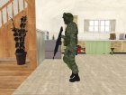 Skin Militar Sedena for GTA San Andreas back view