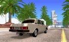 ГАЗ 21-10 Волга Прототип для GTA San Andreas вид сверху