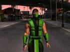 X Mortal Kombat Klassic Human Reptile