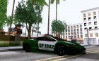 Lamborghini Reventon Carabineros de Chile for GTA San Andreas inside view