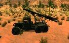 ЗИС-6 С ракетной установкой БM13 для GTA San Andreas вид слева