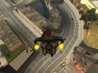 Новые текстуры дорог для GTA San Andreas вид сбоку
