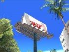 Анимированный рекламный щит PASTENT.TV для GTA San Andreas