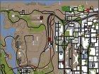 Новый Стрип Клуб  в Bone Counte for GTA San Andreas top view