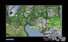 Плакат Саши Грей for GTA San Andreas top view