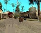 USP-S: Закрученный for GTA San Andreas rear-left view