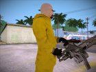 Breaking Bad Walter White Chemsuit для GTA San Andreas вид слева