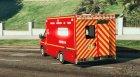 Mercedes Sprinter VSAV Cube Sapeurs-Pompiers de Paris for GTA 5 left view