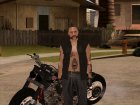Biker from GTA Online v1 для GTA San Andreas вид слева
