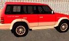 Mitsubishi Pajero второго поколения for GTA San Andreas left view