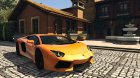 2012 Lamborghini Aventador LP700-4 for GTA 5 top view