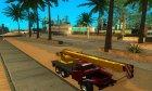 Урал-4320 Кран Ивановец для GTA San Andreas вид справа