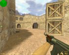 AK 47 Ретекстур для Counter-Strike 1.6 вид слева