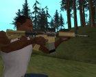Пак на замену оружия для GTA San Andreas вид сбоку