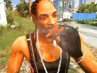 Snoop Dogg for GTA 5 rear-left view