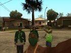 HD Пак банд Los Santos'а for GTA San Andreas side view