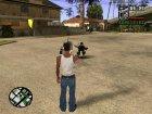 Больше анимаций смертей v2.0 for GTA San Andreas rear-left view