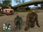 Abomination From Incredible Hulk для GTA San Andreas вид изнутри