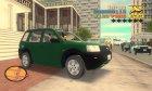 Land Rover Freelander для GTA 3 вид изнутри