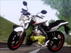 Yamaha Vixion Advance Lominous White для GTA San Andreas вид слева