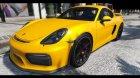 2016 Porsche Cayman GT4 v1.0 for GTA 5 left view