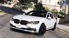 2016 BMW 750Li v1.1 для GTA 5 вид слева