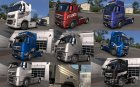 Volvo FH Skin Pack for Euro Truck Simulator 2 left view