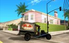 Ford model T 1923 Ice cream truck для GTA San Andreas вид изнутри