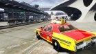 Dodge Monaco 1974 Taxi v1.0 для GTA 4 вид сзади слева