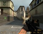 M4A1 из COD для Counter-Strike Source вид сзади