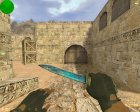 Штык-нож - Мёртвый космос for Counter-Strike 1.6 rear-left view