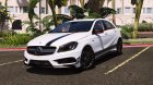 Mercedes-Benz Classe A 45 AMG Edition 1 for GTA 5 left view
