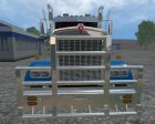 Kenworth W900L for Farming Simulator 2015 inside view