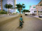 Пистолет с глушителем из San Andreas для GTA Vice City вид слева