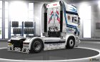Hovotrans скин для грузовика Scania R for Euro Truck Simulator 2 left view