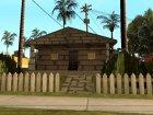 Новые текстуры домов по всему Грув Стриту for GTA San Andreas right view