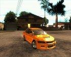 Mitsubishi Lancer Evolution IX Tunable for GTA San Andreas left view