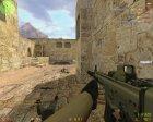 SCAR-L с голографическим прицелом для Counter-Strike 1.6 вид изнутри