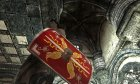 Imperial Light Shield original Ancient Roman style for TES V Skyrim rear-left view