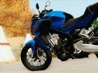 Honda CB650F Azul for GTA San Andreas back view