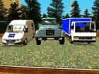 Пак грузовиков для GTA San Andreas вид сзади