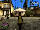 Пак HD скинов из GTA V Online for GTA San Andreas rear-left view