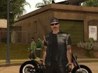 Biker from GTA Online v2 для GTA San Andreas вид слева