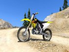 Suzuki RMZ 250 for GTA 5 top view