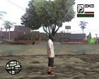 Бандит в маске for GTA San Andreas left view