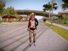 Harley Quinn - Suicid Squad (Injustice) для GTA San Andreas вид справа