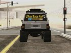Jeep Cherokee 1998 Off Road 4x4 для GTA San Andreas вид сзади слева