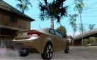 Kia Forte Koup SX для GTA San Andreas вид сверху