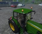 John Deere 6630 Weight FL для Farming Simulator 2015 вид сзади