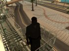 Осязаемые лестницы для GTA San Andreas вид сзади слева
